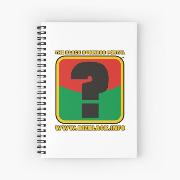 WWW.BIZBLACK.INFO LOGO Spiral Notebook