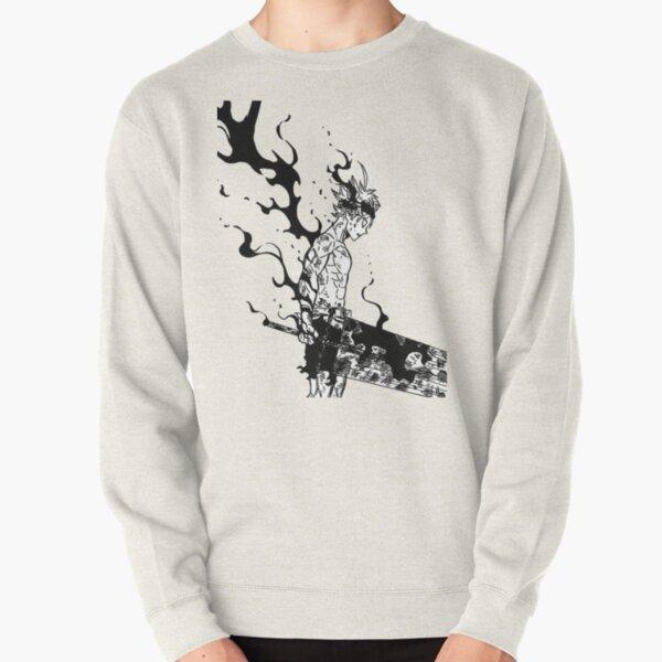 schwarzer Klee Pullover