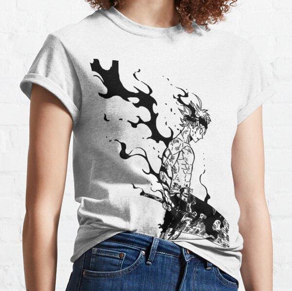 trébol negro Camiseta clásica
