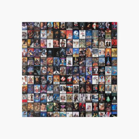 80's movies collage | the best of the best  Art Board Print