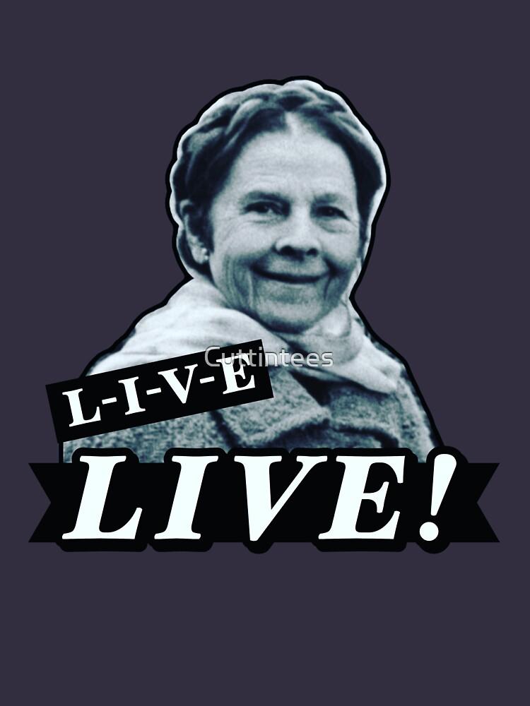 Ruth Gordon - Harold and Maude LIVE by Cuttintees