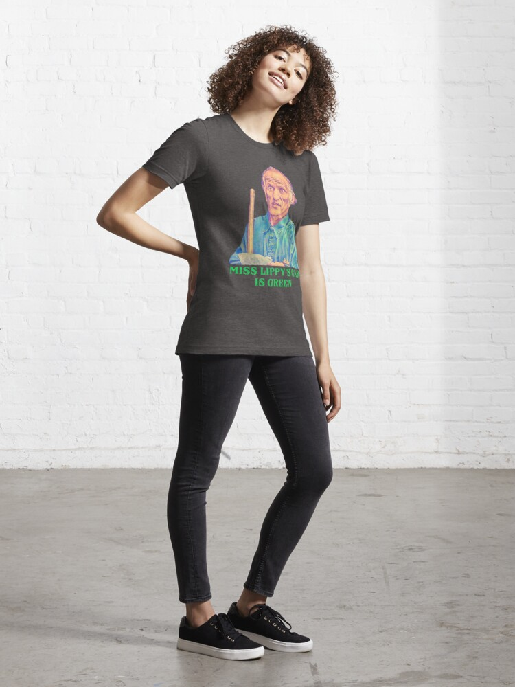 Alternate view of Miss Lippy's Car is Green - Billy Madison Janitor Essential T-Shirt
