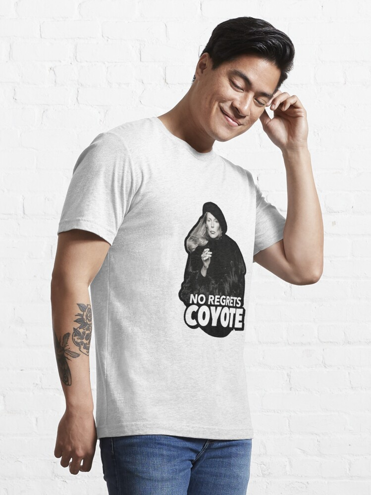 Alternate view of No Regrets Coyote Joan Joni Anderson Mitchell Essential T-Shirt
