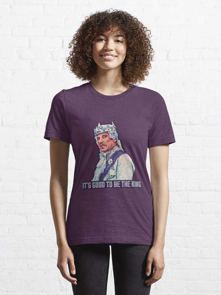 Alternate view of History of the World Part 1 - It's Good to be the King Essential T-Shirt