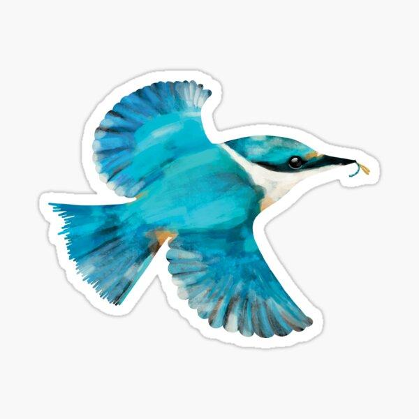 Sacred Kingfisher Sticker