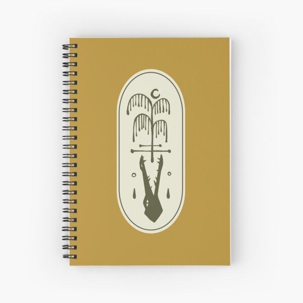 Willow Branches Spiral Notebook