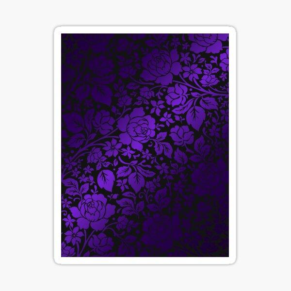 Roses are Purple Sticker