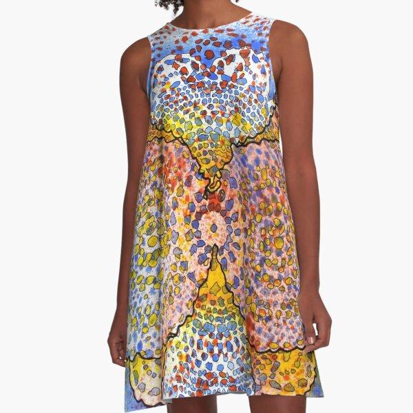 Stain 3 A-Line Dress