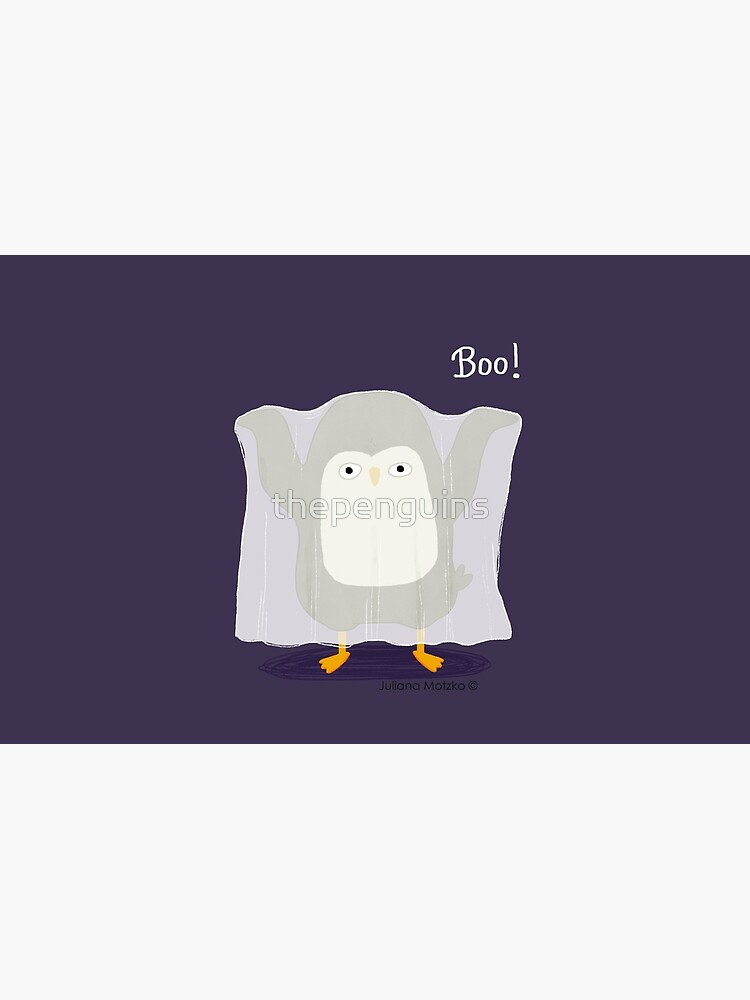 Boo! A Penguin Ghost by thepenguins