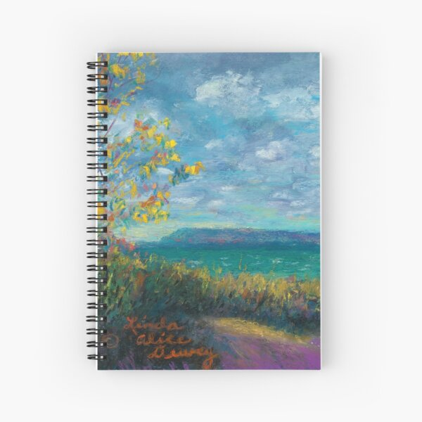 Clearing Autumn Skies Spiral Notebook