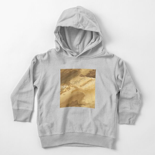 Abstract Acrylic Brown And Tan Toddler Pullover Hoodie