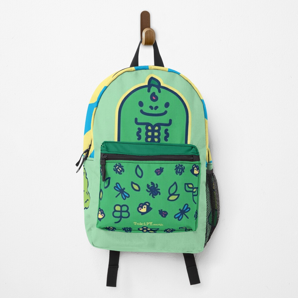 Diploo the baby dinosaur in the Classroom - Creatober 2020 day 13 Backpack