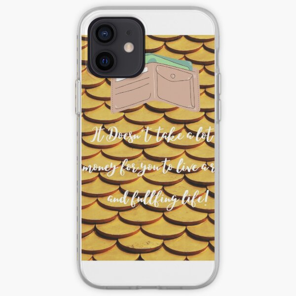 Live The Rich Life iPhone Soft Case
