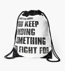 The Last of Us Drawstring Bag