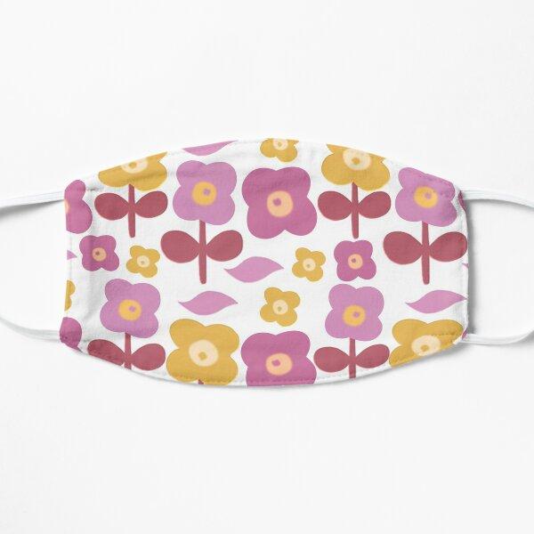 Flower Pattern Flat Mask