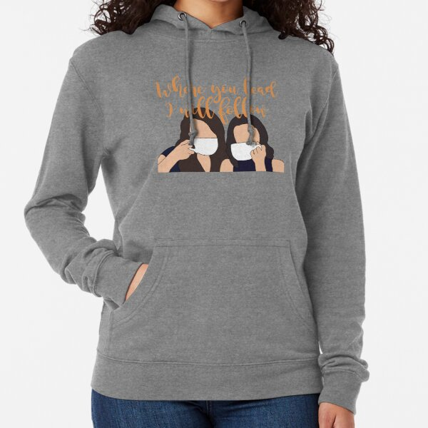 Where you lead I will follow Lightweight Hoodie