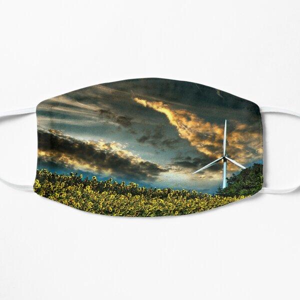 Sunfllower field II Flat Mask