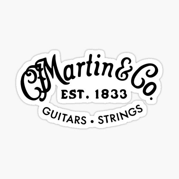 Martin Gitarren Sticker