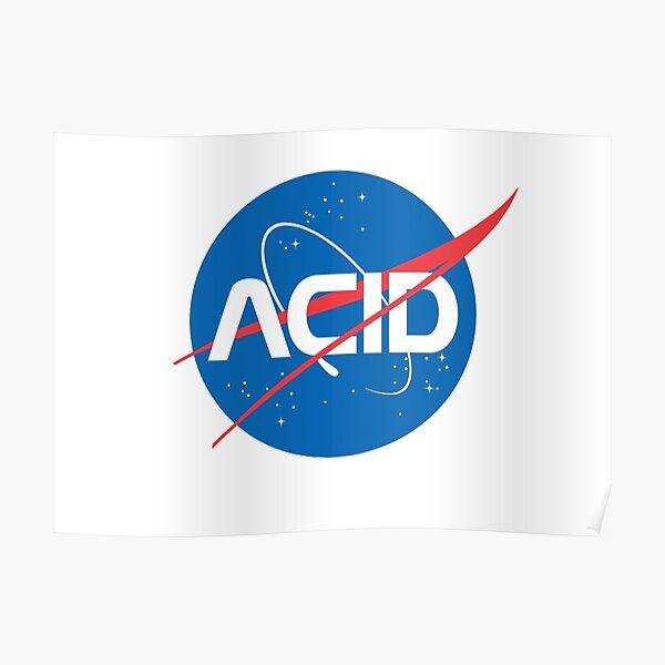 Acid vs Nasa Poster