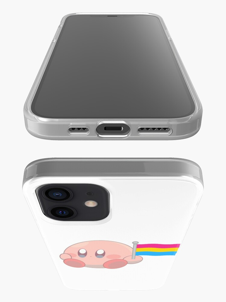 Alternate view of Kirby Pansexual Flag <3 iPhone Case & Cover