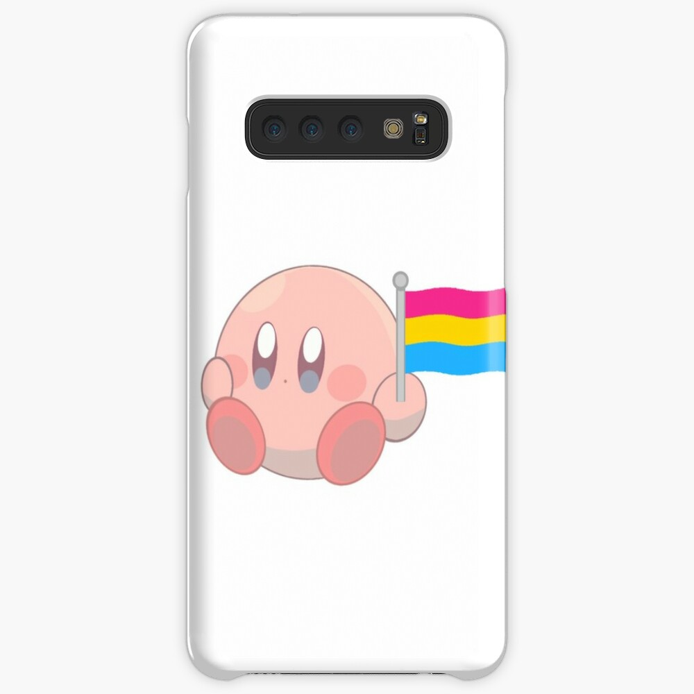 Kirby Pansexual Flag <3 Case & Skin for Samsung Galaxy