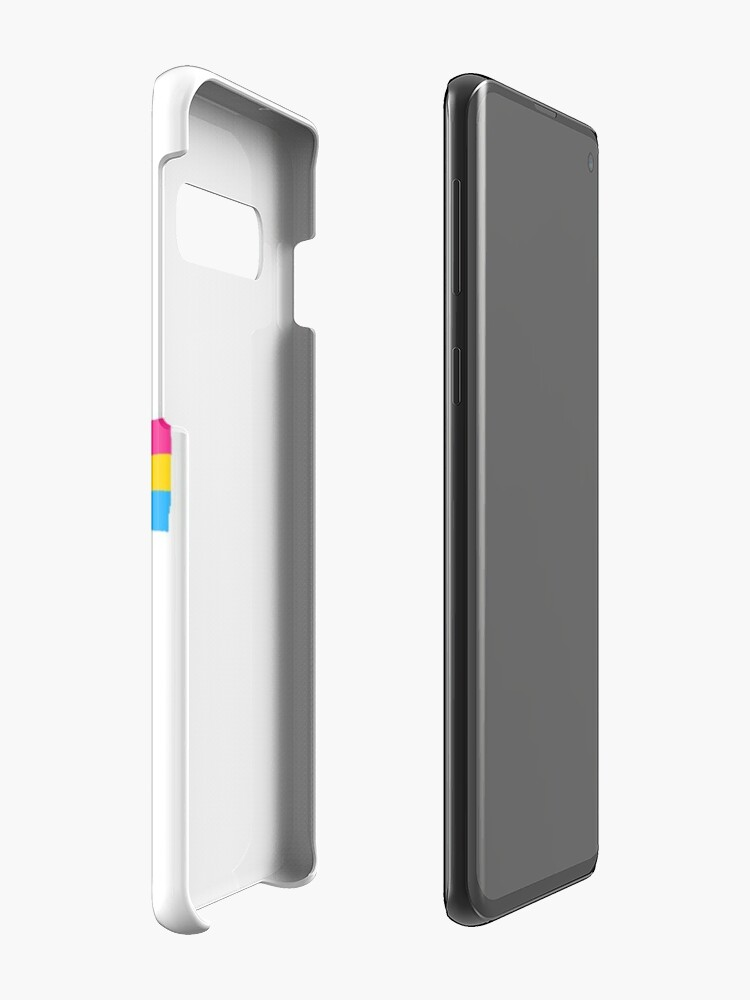 Alternate view of Kirby Pansexual Flag <3 Case & Skin for Samsung Galaxy