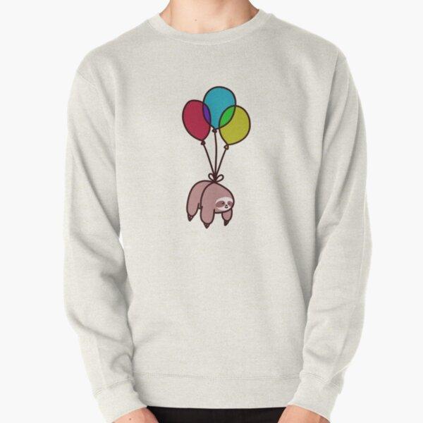 Balloon Sloth Pullover Sweatshirt
