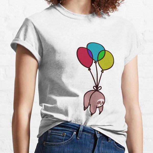 Balloon Sloth Classic T-Shirt