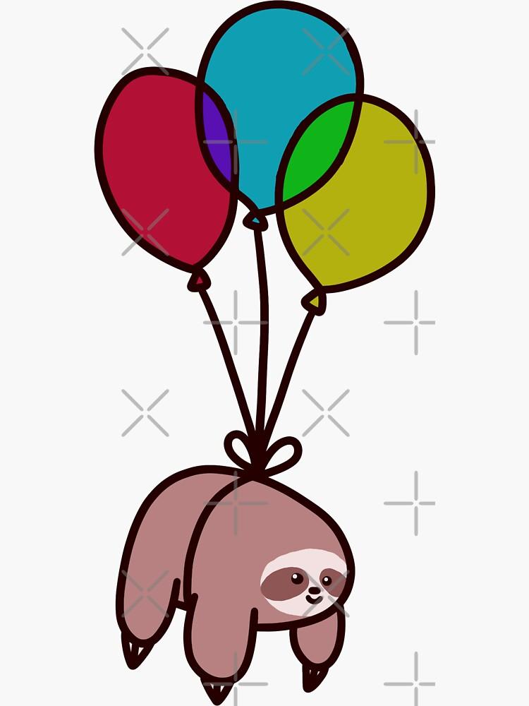 Ballon-Faultier von SaradaBoru
