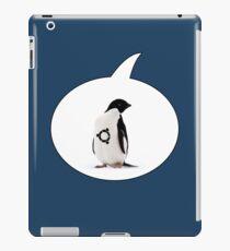 """""""Ubuntu"""" Penguin tattoo iPad Case/Skin"""