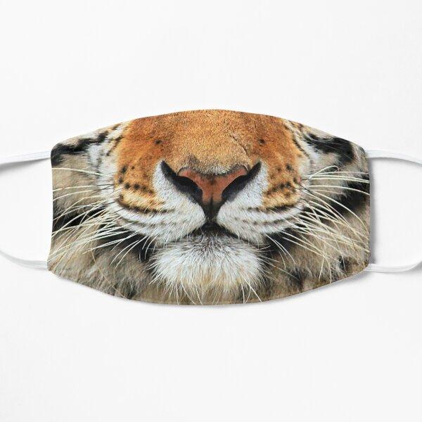Amur Tiger Photo Face Flat Mask