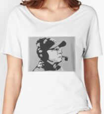 Tom Coughlin Portrait Women's Relaxed Fit T-Shirt