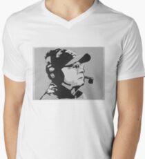Tom Coughlin Portrait Men's V-Neck T-Shirt