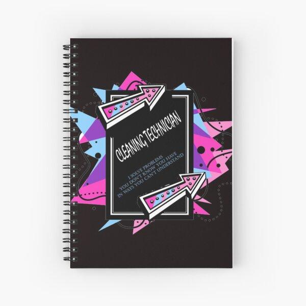 CLEANING TECHNICIAN best design Spiral Notebook