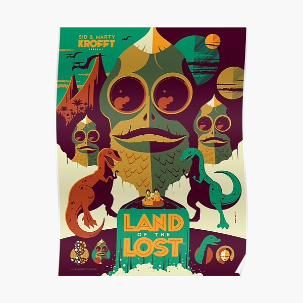 Land of the Lost 70's Edition Poster