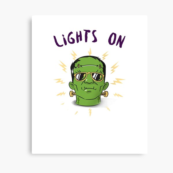 Lights On ! Canvas Print