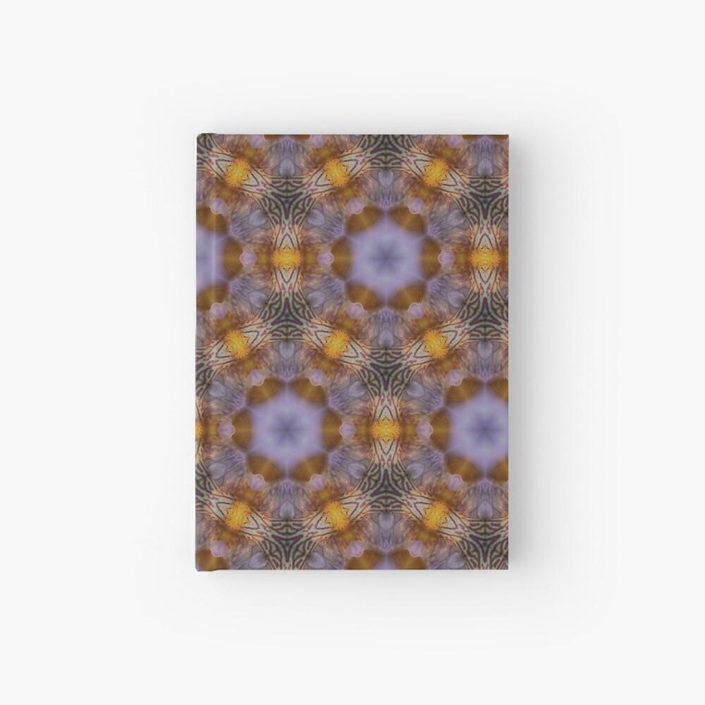 Flower  kaleidoscope Hardcover Journal