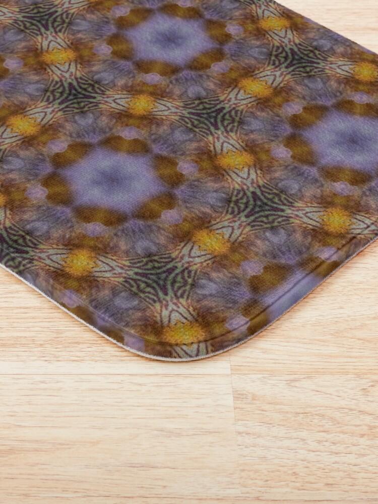Alternate view of Flower  kaleidoscope Bath Mat