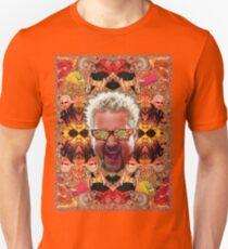 God Guy Fieri's Hot Dog Diggityverse T-Shirt