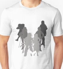 Tales of the Abyss cast silhouette T-Shirt
