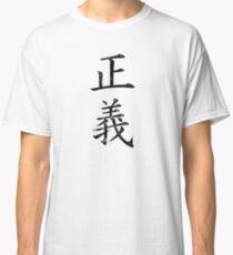 Justice Kanji Classic T-Shirt