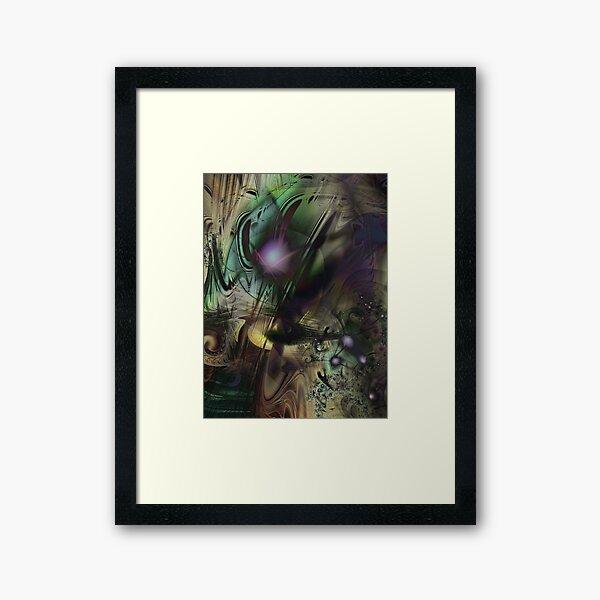 Splatter Paint Framed Art Print