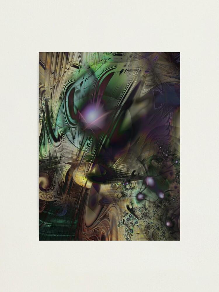 Alternate view of Splatter Paint Photographic Print