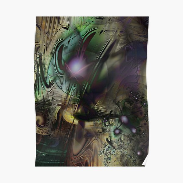 Splatter Paint Poster