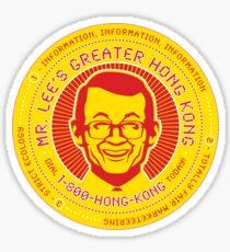 Mr. Lee's Greater Hong Kong Sticker