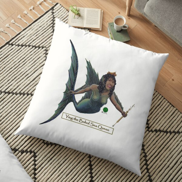 Ying the Bohol Sea Queen Sticker For Grotesque Moi! Floor Pillow