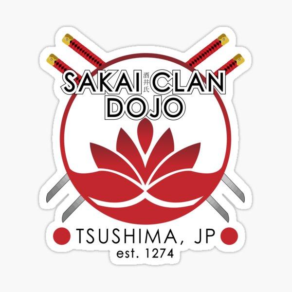 Sakai Clan Dojo (Ghost of Tsushima Inspired) Sticker