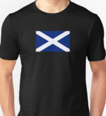 BIG St Andrew's Cross - Scottish Flag T-Shirt Bedspread Duvet T-Shirt