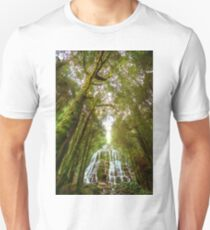 Falls in the forest Unisex T-Shirt