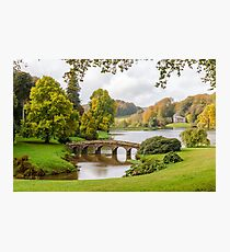 English Autumn Photographic Print